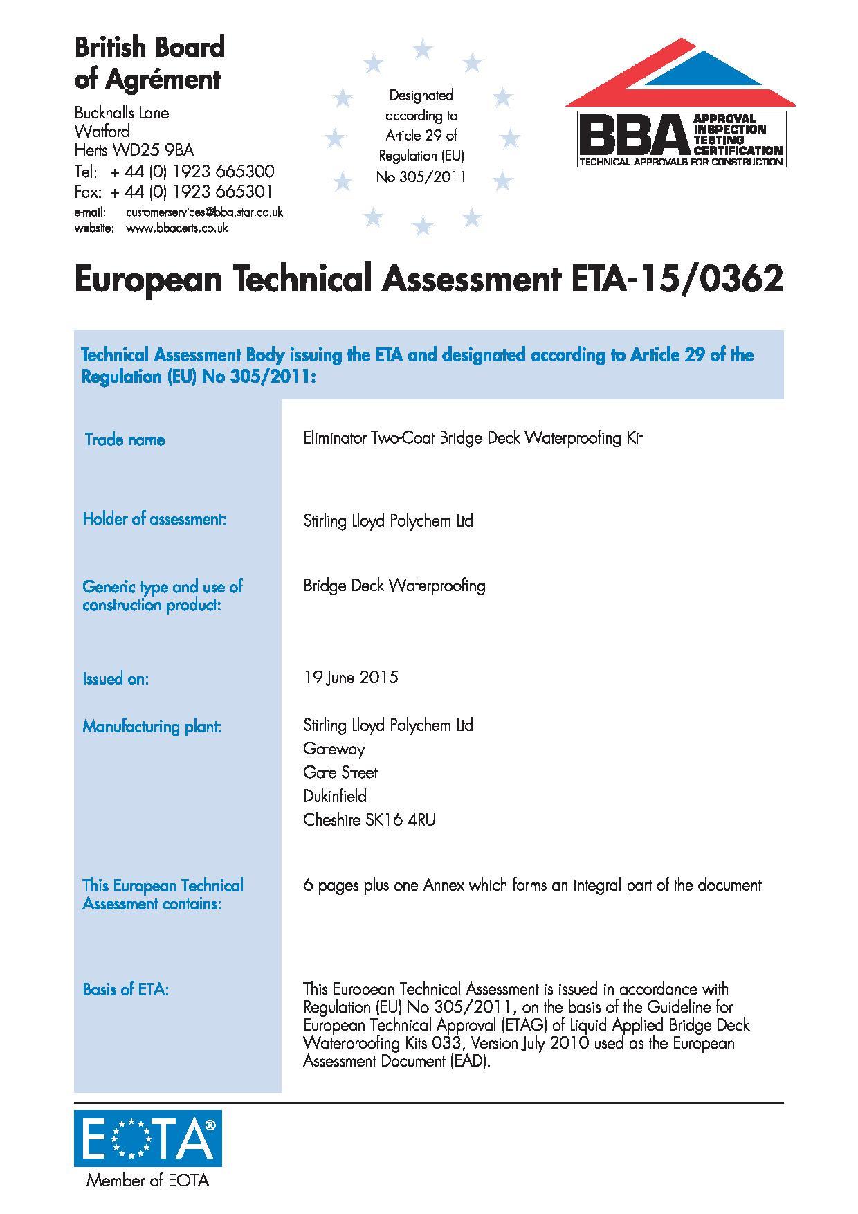 Europejska Ocena Techniczna