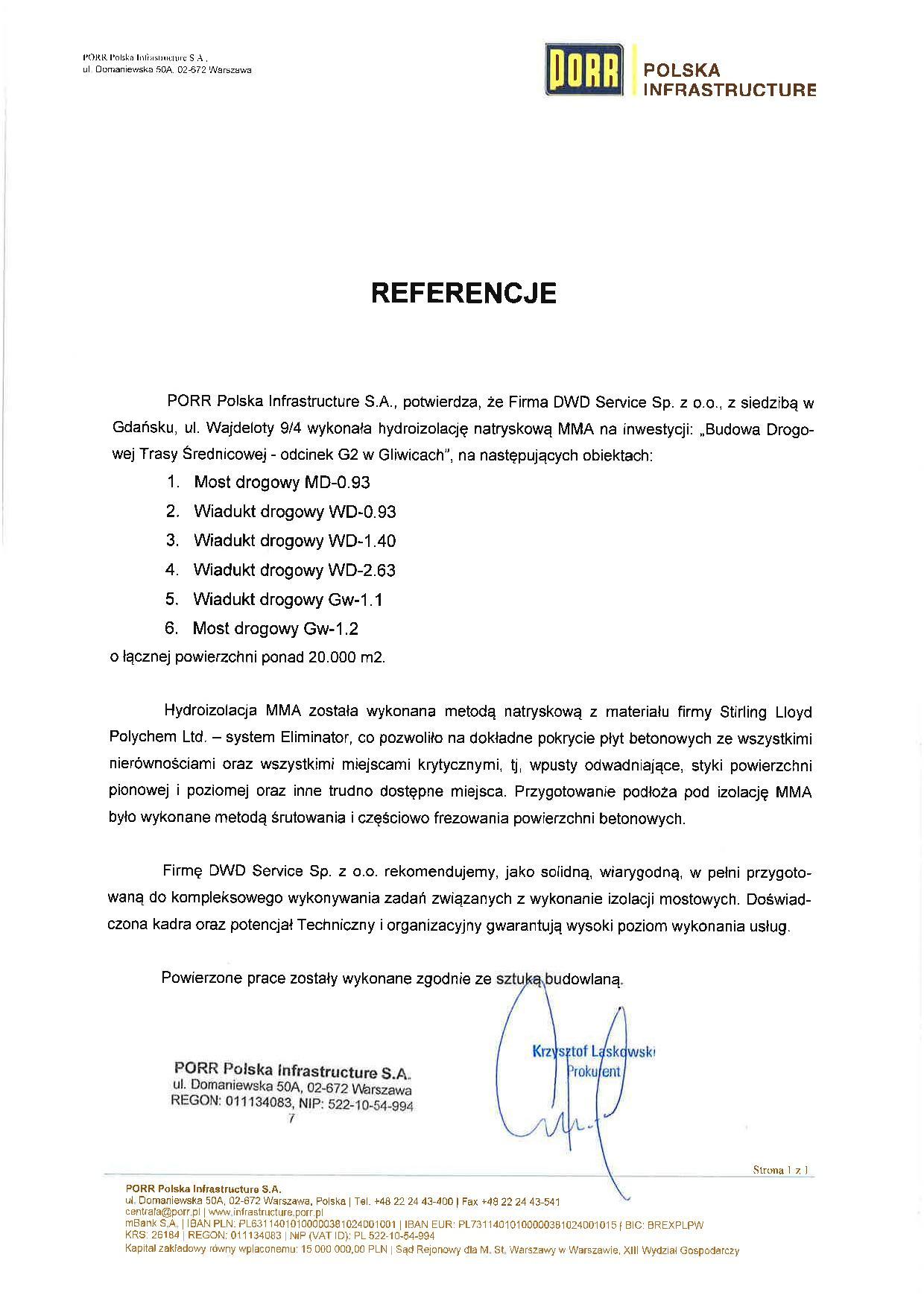 PORR Polska Infrastructure
